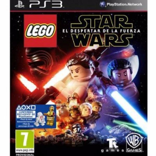 juego ps3 lego star wars episodio VII