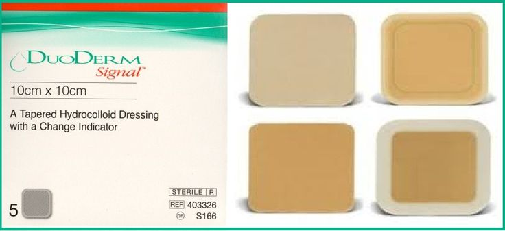 Duoderm Signal Dressing is a specially designed wound dressing with tapered edges and a latex-free adhesion formula. It's an indispensable part of your medical kit