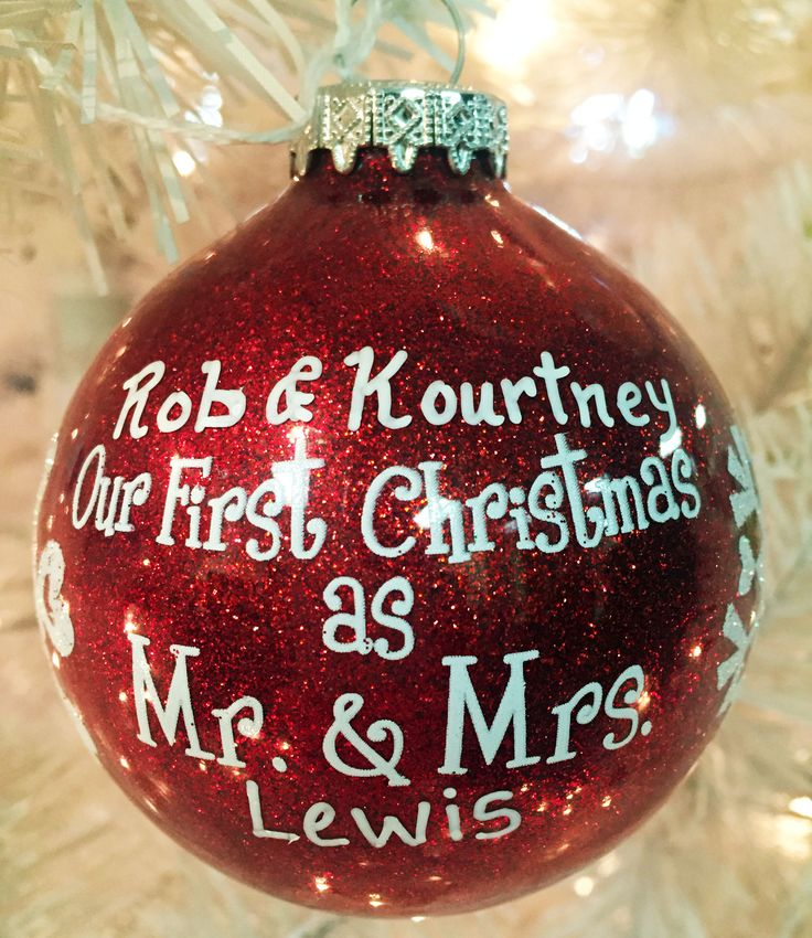 26 best Anniversary Ornaments images on Pinterest | Christmas deco ...