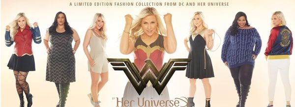 Her Universe Launches Their Wonder Woman Fashion Collection