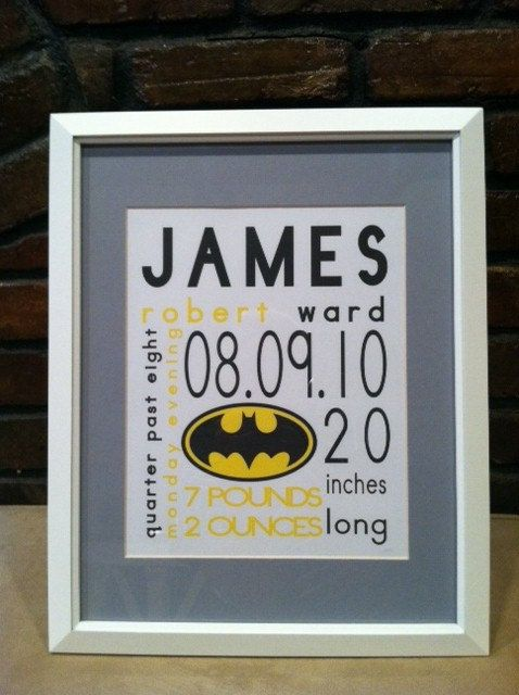 Nursery Prints Personalized Superhero Nursery by preppypersonals, $80.00