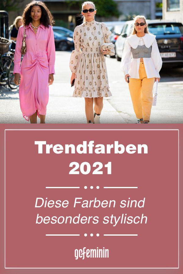 Trendfarben 2021: Diese Modefarben sind im Frühjahr und ...