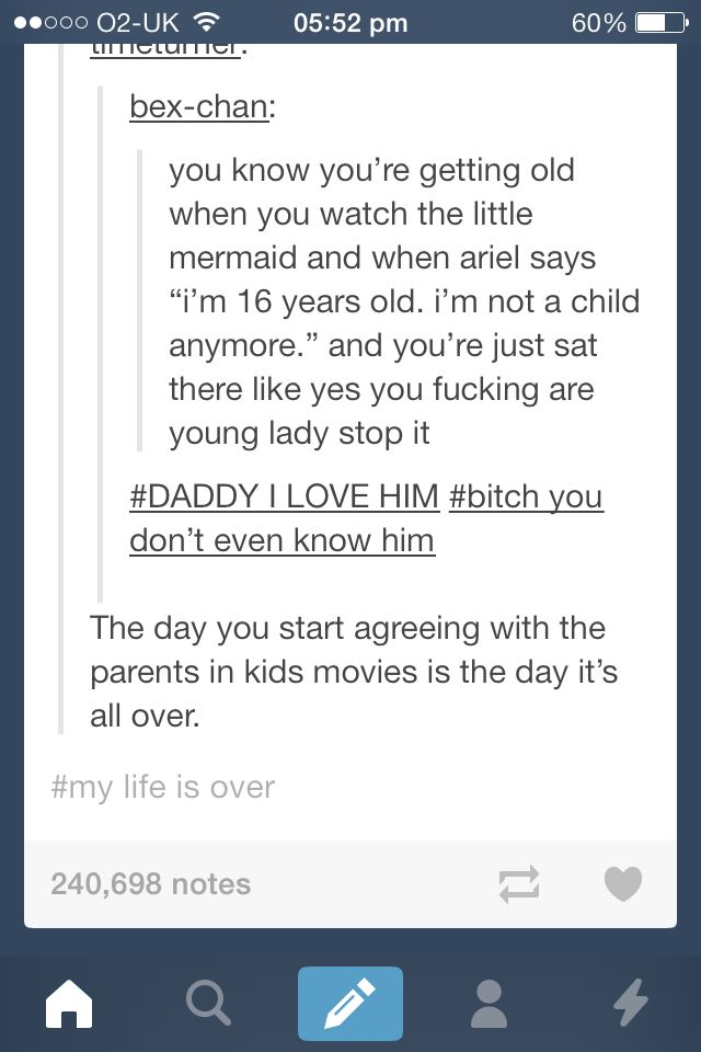 Disney movies as an adult .... scary