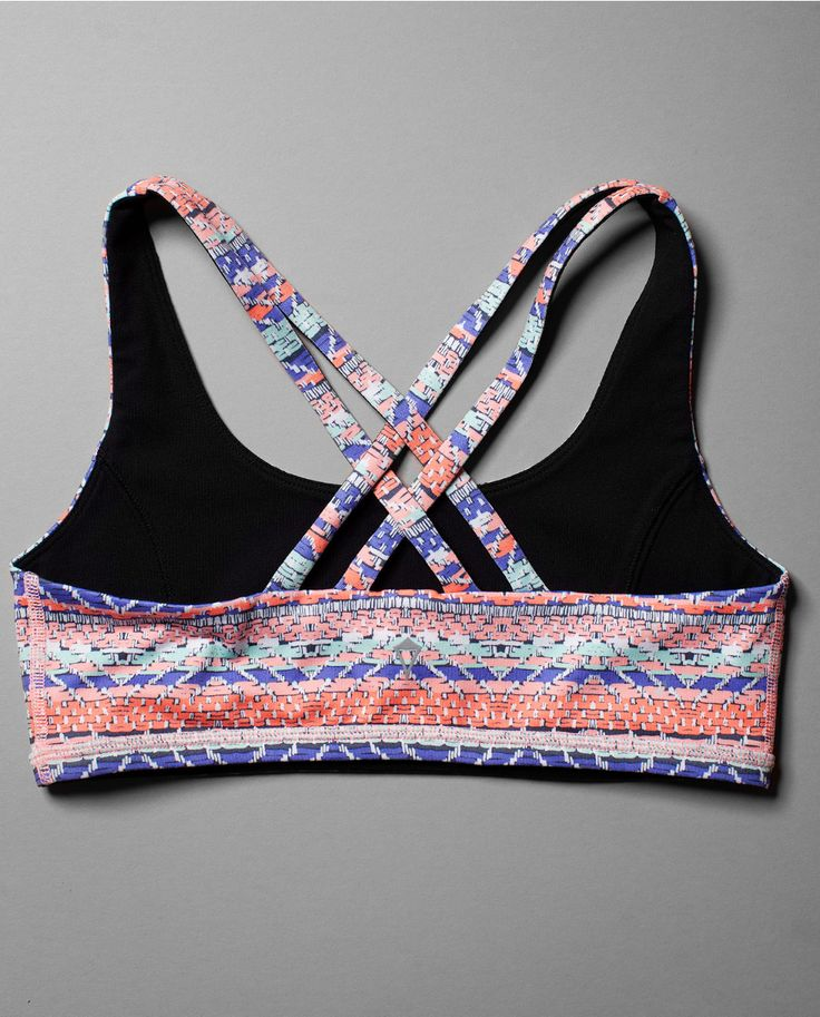 Light Luon is oh-so soft + reversible. | Vitality Sports Bra