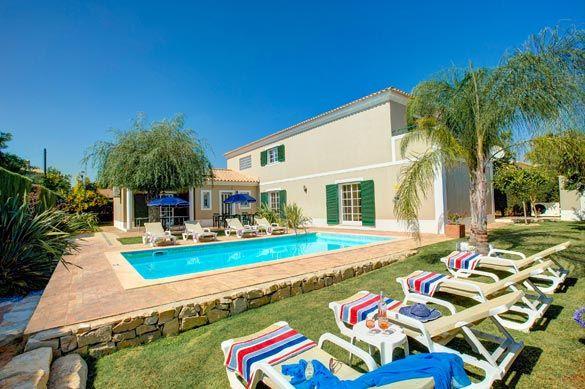 Villa Teotel, Almancil, Algarve, Portugal. Find more at www.villaplus.com