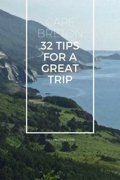 Cape Breton, Nova Scotia: 32 Tips for a Great Trip http://solotravelerblog.com/cape-breton-nova-scotia-32-tips-for-a-great-trip/