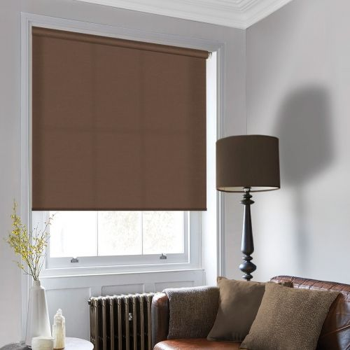 Sale Havana Brown Roller Blind