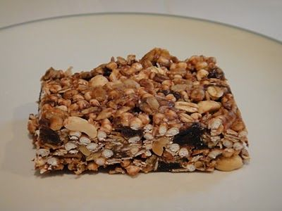 Freeze Your Way Fit: Clean Eating Healthy Homemade Granola Bars (No Bake)