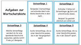 Grammatik Vorlage für ein Klassenraumposter zu Wortarten Übung zur Zeichensetzung Wörtliche Rede Leseboxen Meine Klasse liebt all...