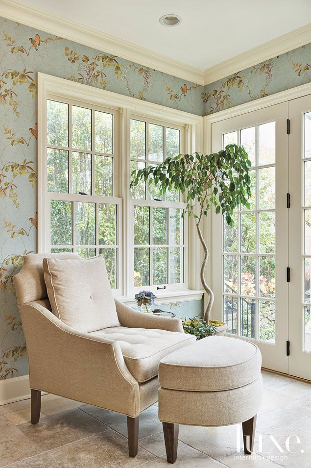 Foreign Exchange: A Modernized Colonial Revival Home | LUXE Source