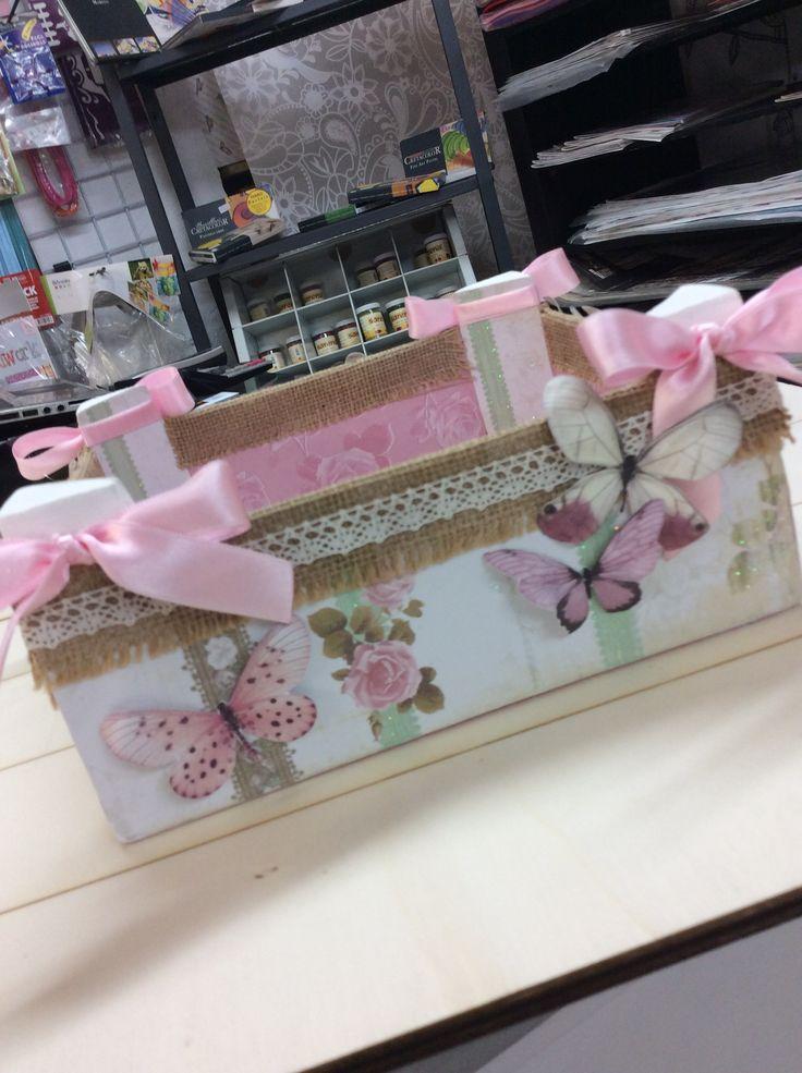 155 best cajas de fruta images on pinterest decoupage - Cajas de fresas decoradas paso a paso ...