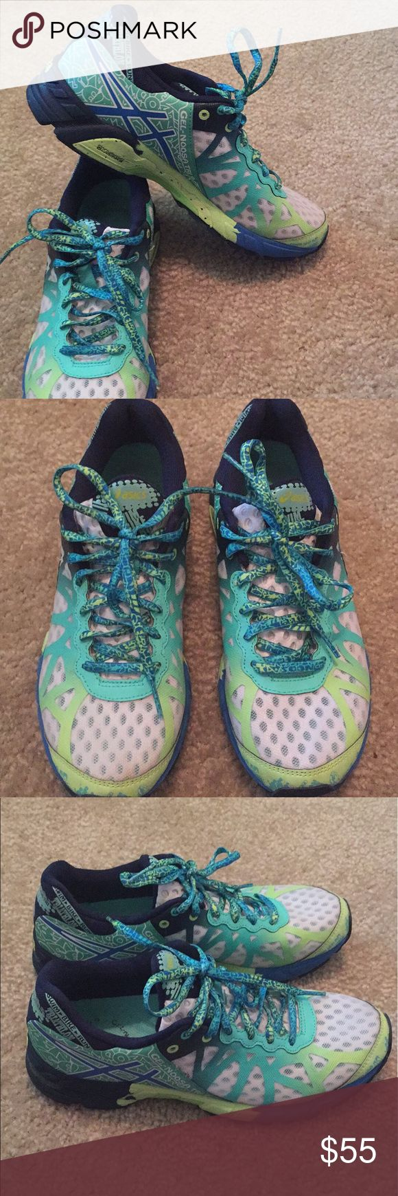 Asics Gel Noosa Triathlon Great shoes but too small!   Great condition! Asics Shoes