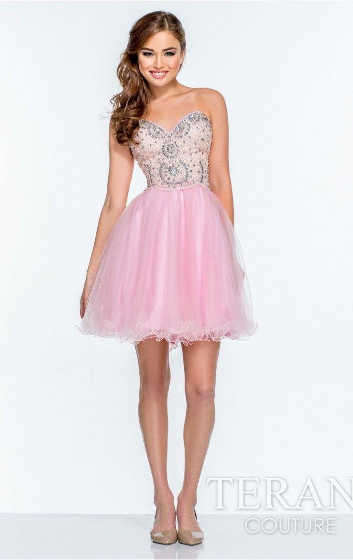 69 best pink prom dresses 2015 images on Pinterest | Prom dresses ...