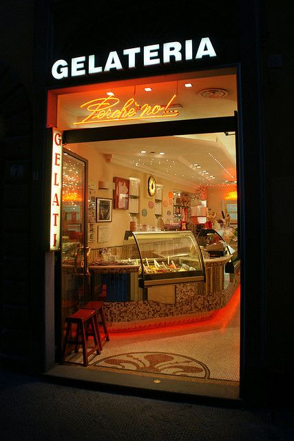 Gelateria - Florence, Italy