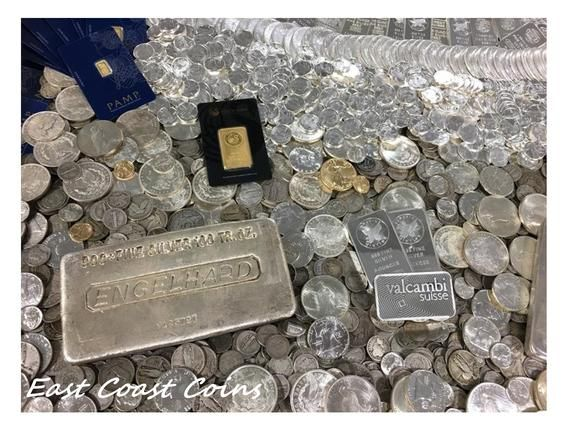 OLD ESTATE SALE SILVER COINS AND OLD US COINS