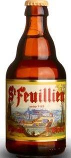 Cerveja St. Feuillien Blonde, estilo Belgian Blond Ale, produzida por Brasserie…