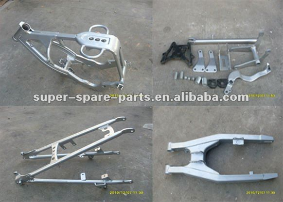 china cheap silver steel yzf 250 pit bike frame