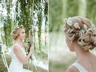 Kır Düğünlerinin En Popüler Saç Aksesuarları