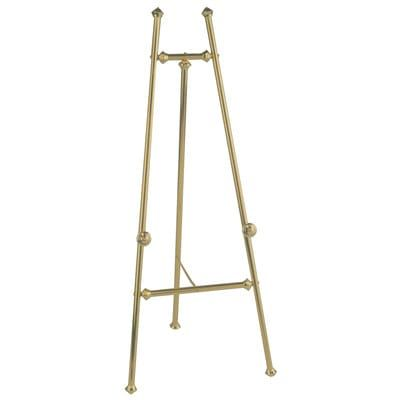 """Brass Floor Easel 