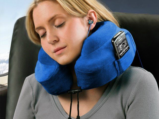 The patented Evolution Pillow is the first travel pillow that actually works! Find out why people are calling this the best neck pillow in the world. GetdatGadget.com/best-gadgets-help-sleep/