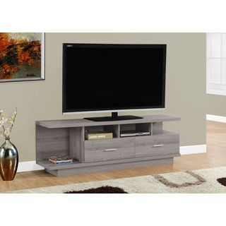 dark taupe 60 inch tv stand monarch specialties tv cabinets tv stands u0026 cabinets home ente