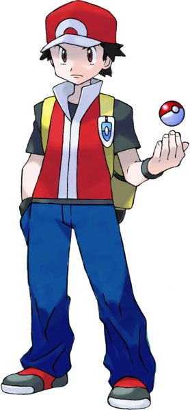 A fan art of Pokemon Trainer Red in color Copyrights of Pokemon and all related characters belongs to Nintendo & Gamefreak
