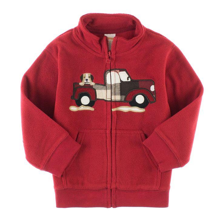 Gymboree fleece jakkke for små gutter.