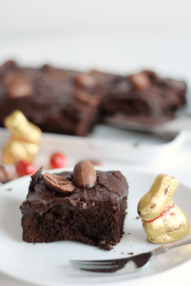 The Lovecats Inc: BAKING: Lindt Chocolate Brownies