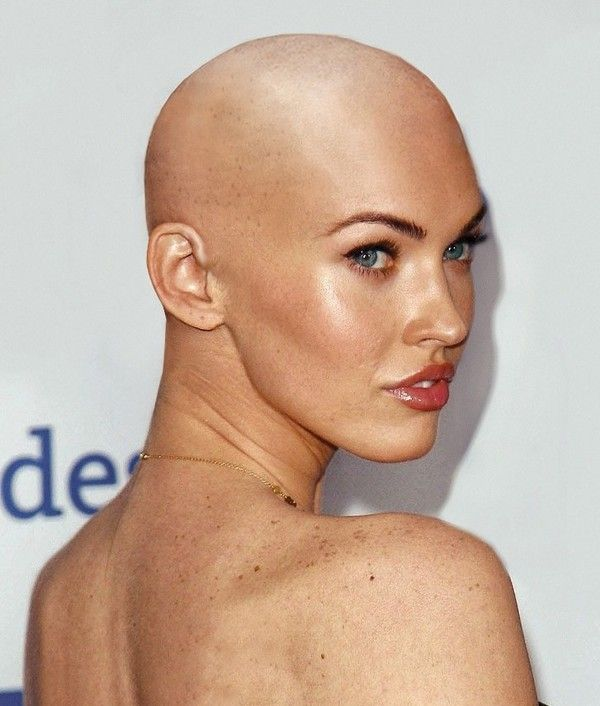 Celebrities with shaved heads — pic 12