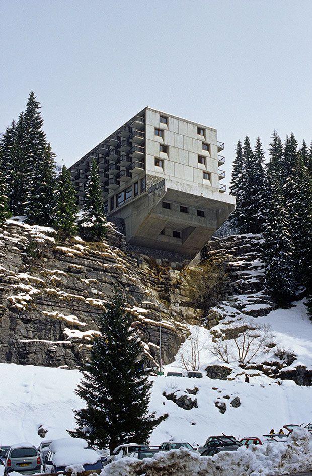Marcel Breuer's ski resort, Flaine. From This Brutal World