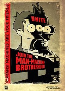 Futurama - Unite - Machines Are Your Friends - 20th Century Fox - World-Wide-Art.com - $175.00 #Futurama