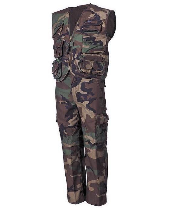 MFH Kinder-Anzug, woodland / mehr Infos auf: www.Guntia-Militaria-Shop.de