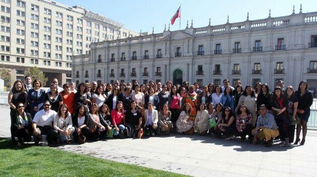 Primera Cumbre Regional de Género en Asistencia Humanitaria 2015 - Santiago de Chile - ONU - Martha de Escamilla - Coordinadora Voluntariado Permanente de Villa Canales, Guatemala.