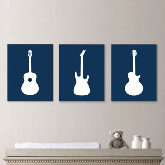 Hey, I found this really awesome Etsy listing at https://www.etsy.com/listing/204279151/baby-boy-nursery-art-print-guitar