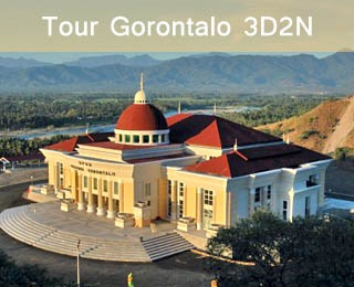 Tour Gorontalo 3D2N. Visit the Hidden Paradise:  Benteng Otanaha, Danau Limboto, Desa Iluta, Menara Keagungan, Monumen Nani Wartabone, etc. Starting from Rp 2.070.000/Pax.  Visit http://ezytravel.co.id or call 021-231 6306 for more information and reservation. Valid until 30 June 2013