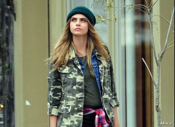 De retour dans la mode cette année, l'imprimé camouflage ou Camo fait sensation !