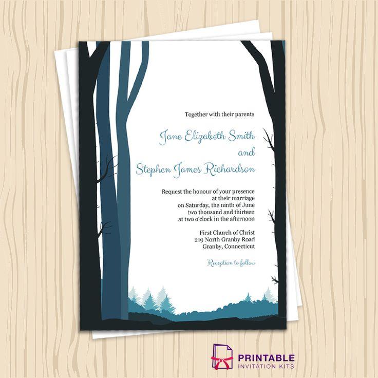 Cheap Rustic Wedding Invitation Kits