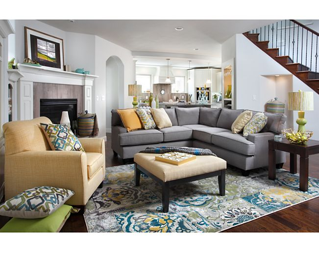 Accent Chairs-Livingston Accent Chair-Brighten up your space with yellow