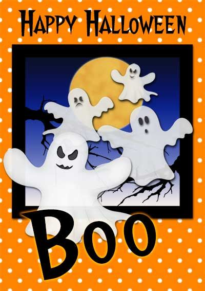 Crafty image inside free printable halloween cards