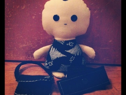 Tooth Tot Boy Doll 'Jonah' comes with scarf and boot bag :)