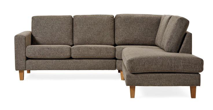 Produktbild - Focus, 2-sits soffa med divan höger