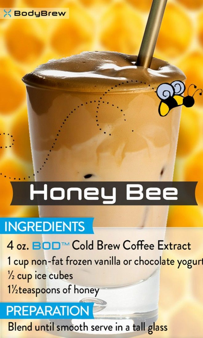 Honey Bee - Make Better Tasting Hot or Iced Coffee & Cocktails in Seconds