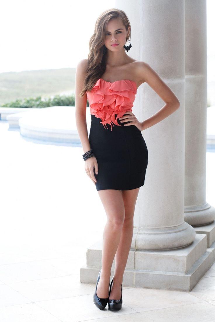 Hot sexy short dresses