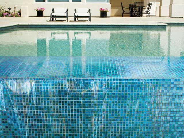 283 best images about crossville 39 s coverings board on for Pool mosaic designs