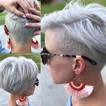 23 Stylish Pixie Undercut Hair Ideas alt=