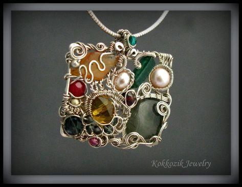 What! I love thissssssssss wire jewelry