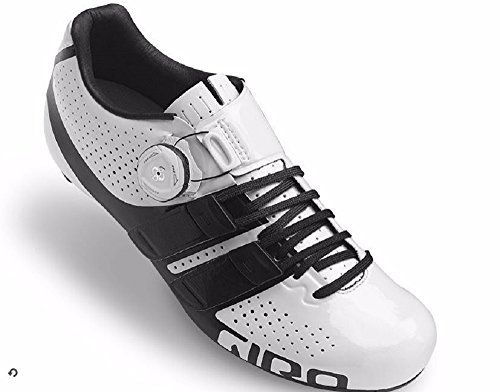 Giro Factress Techlace White Black Ladies Road Bike Shoes Size 42 ** Click image to review more details.