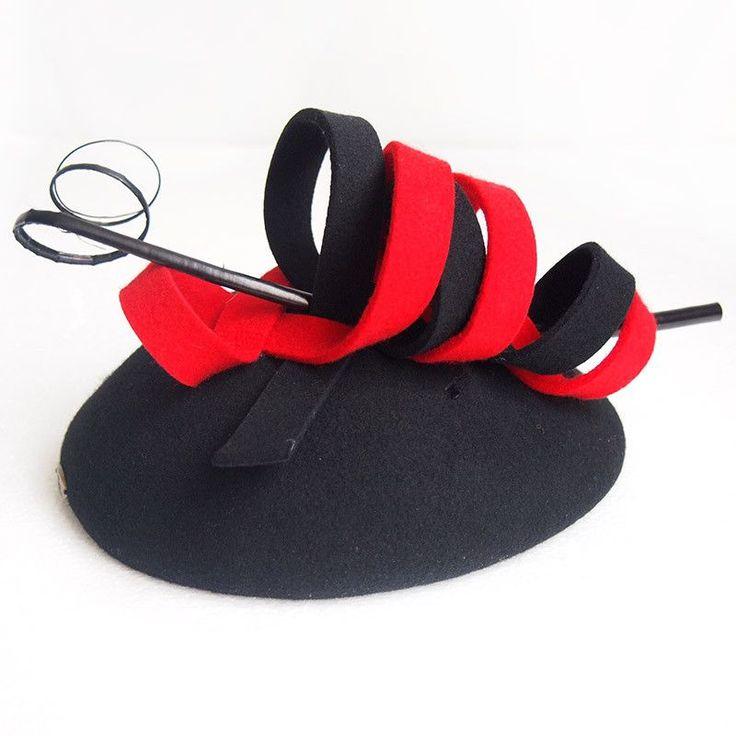 Lady new arrival fashion hats women England bowler hat short eaves female 100% wool hat wedding cap church hat B-1277   Supernatural Style