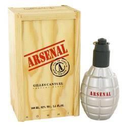 Arsenal Red Eau De Parfum Spray By Gilles Cantuel