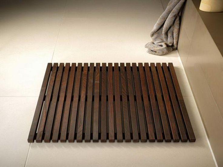 types of wooden bath mat with floor design tropical bath. Black Bedroom Furniture Sets. Home Design Ideas